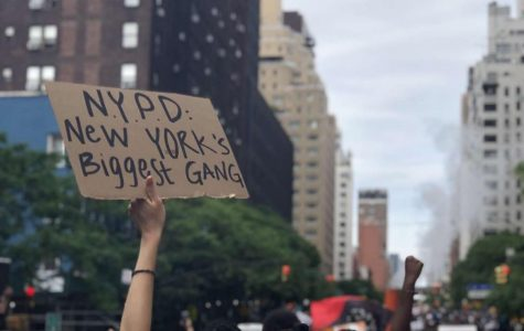 People are protesting all over New York City in response to the death of George Floyd.