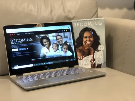 Michelle Obama's 34-city book tour for her memoir 'Becoming' is featured in her documentary.