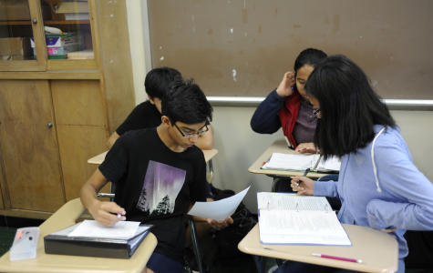 Students in the A.P. U.S. History classes at Bronx Science learn about past treaties between the United States and Native Americans.
