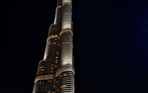 Here is the 929 meters-tall building that Tom Cruise scaled in his infamous stunt in 'Mission Impossible: Ghost Protocol,' the Burj Khalifa.