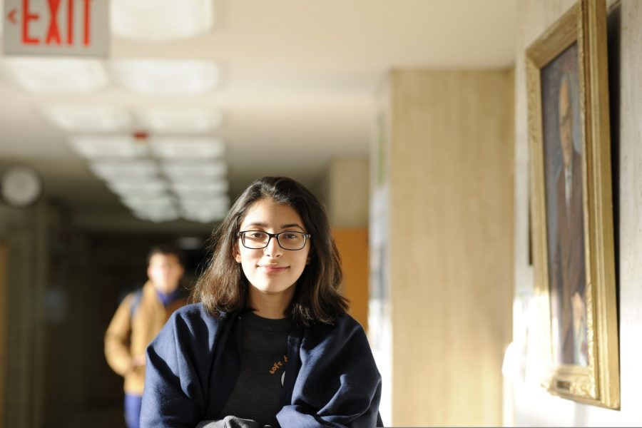 Anika Thapar '21 believes that any problems between teachers and students during this remote learning period can be solved with simple conversations (at the end of Zoom classes, for instance) and by being considerate towards each other.