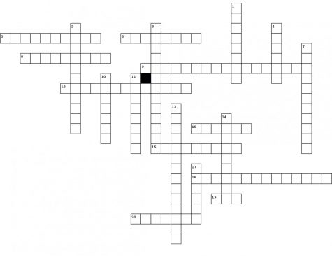 Print out this crossword box so that you can fill in the answers.