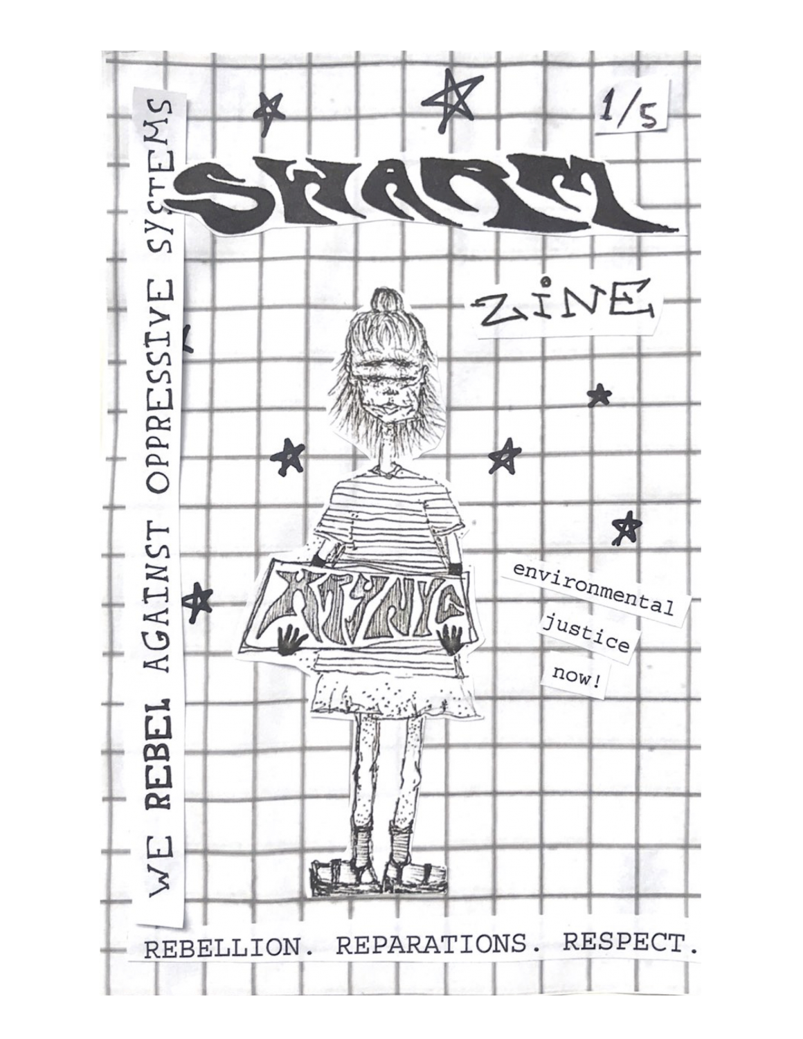 XRYNYC's Swarm Zine was distributed all over New York City. It was used as a tool to educate communities on environmental racism.