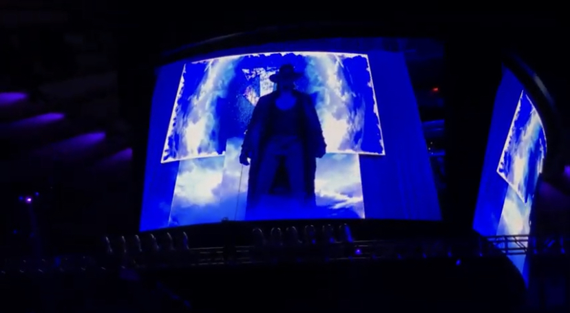 The Undertaker made his final appearance at Madison Square Garden in 2018.