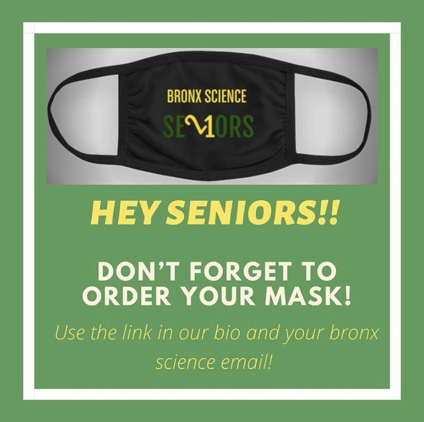 One of the first ideas introduced by the Senior Council was Senior Masks, a great way to represent the Class of 2021 while staying safe during the Coronavirus pandemic.