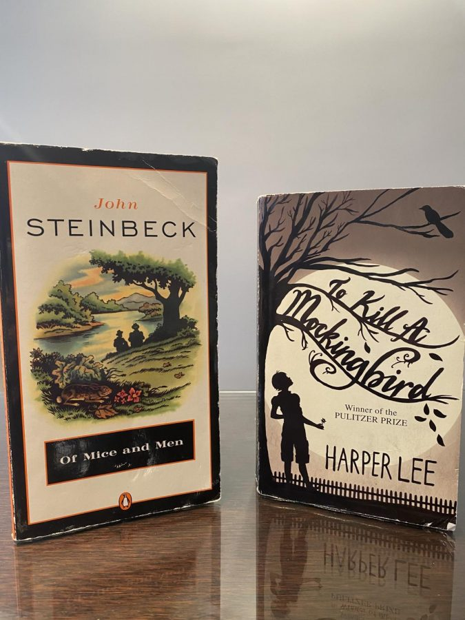 Two of the most well known classic 20th century American novels, 'Of Mice and Men' and 'To Kill A Mockingbird,' are also considered to be controversial in some school districts across America.