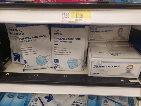 Face masks used to combat COVID-19 transmission are currently sold by large retail chains throughout the United States.