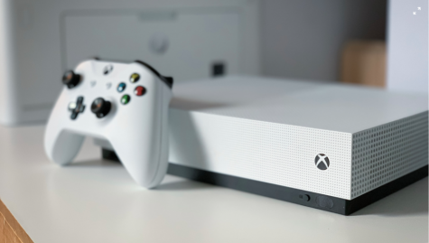 The newly released XBOX features a slick white design.