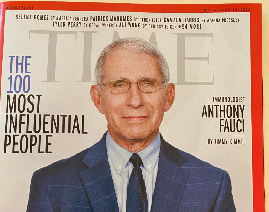 Dr. Anthony Fauci appeared on the front cover of 'TIME magazine' in 2020, after he was placed on their list, 'The 100 Most Influential People,' for his leadership in the pandemic-era world.