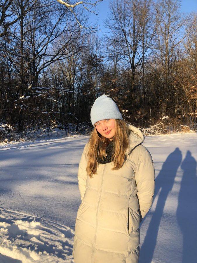 Allie Smithie '22 often takes poetic inspiration from nature, in particular from the British countryside where she spent her childhood.