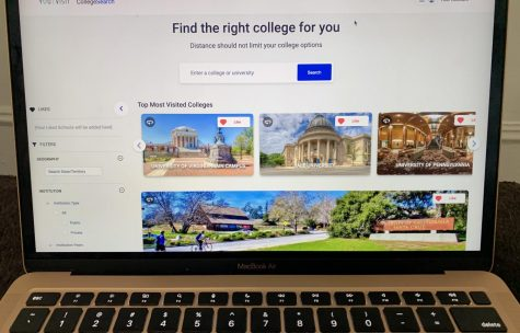 This is the YouVisit college touring website. It has features that allow YouVisit to search for colleges that are ideal for you, based off of your future career choices.