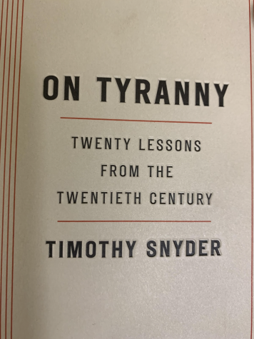 Timothy Snyder's 'On Tyranny' : A Guiding Light For Reversing America's Democratic Backsliding