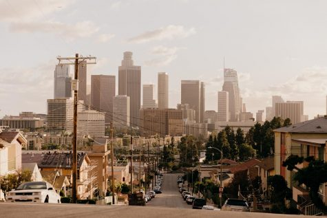 This is an image of the city of Los Angeles, where Architectural Digest was first started as a small local magazine. When Paige Rense joined its staff in 1970, she took it from a small Los Angeles startup to a world renowned publication.