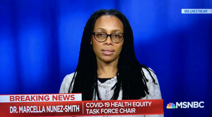 Dr.+Marcella+Nunez-Smith+ensures+the+public+that+the+Biden+Administration+is+focused+on+carrying+out+an+equitable+Coronavirus+pandemic+response+and+recovery+efforts%2C+as+well+as+protecting+the+safety+and+health+of+all+communities+%E2%80%94+especially+those+most+affected+by+or+at+risk+for+COVID-19.++