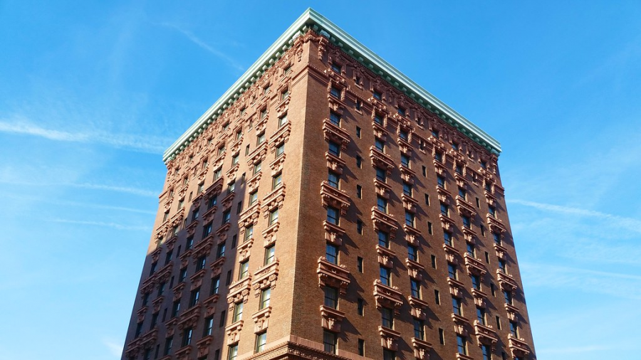 The Lucerne Hotel in the Upper West Side of Manhattan has been the focus of controversy over the past year, serving as a temporary homeless shelter during the Coronavirus pandemic.