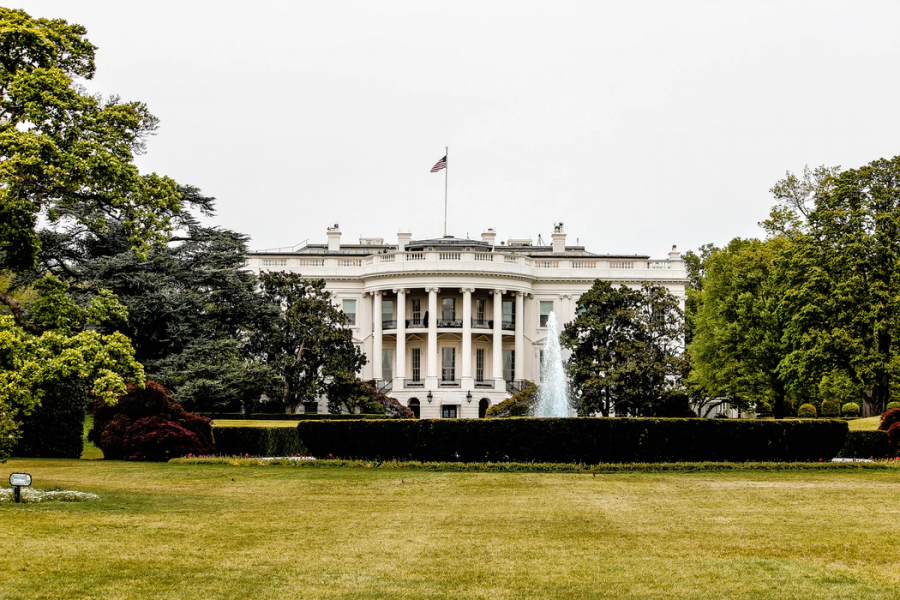 "The White House, where President Biden and his family currently reside, is where Biden is hard at work carrying out his agenda. ""I think that Biden may face a decent amount of opposition (as usual for a new President), but I think that most people will support his ideas, or at least will share his cause,"" said Shad Talha '23."