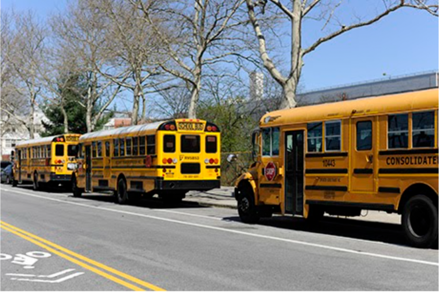 Vallo buses would bring students right to the front of Bronx Science in the mornings, and drop them home in the afternoon or evening every day without fail.