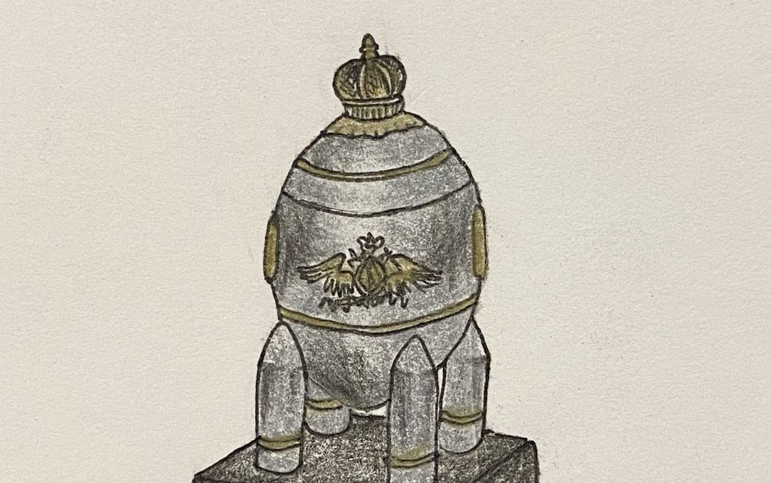 The Steel Military Egg was the last Imperial Egg.