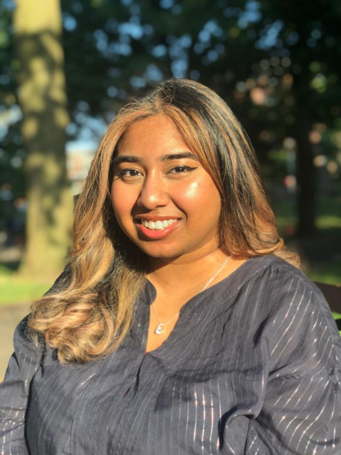 """Accountability is key to a writer's work / life balance. """"I had friends who would say, 'What did you write today?', so that made me even more motivated to keep going,"""" Tashie Bhuiyan '16 said."""