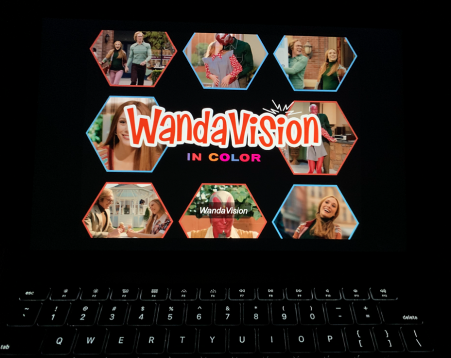 One must watch several episodes of 'WandaVision' before the series switches to 100% in color, in what proves to be a visually delightful scene.