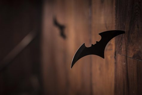 Bruce Wayne revealed his identity to the Flash by using a similar batarang.