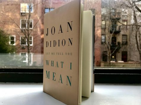 Let Me Tell You What (I Think) She Means: A Review of 'Let Me Tell You What I Mean' by Joan Didion