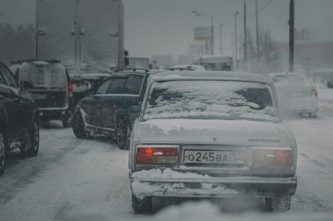 Snowstorms often make it difficult to drive, causing an increase in accidents and traffic congestion.