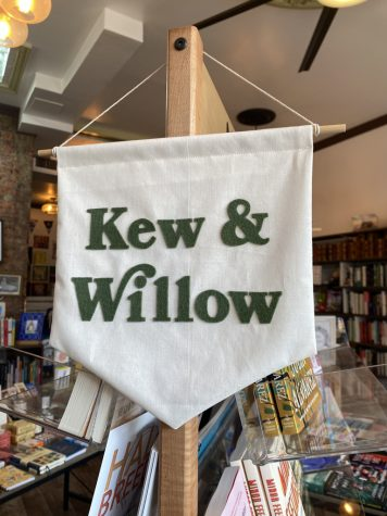 Kew and Willow is one of the only independent bookstores located in Queens.