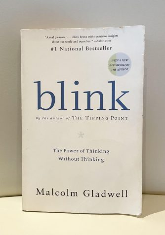 Blink, Gladwell's bestselling book