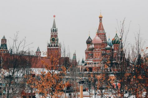 The Kremlin is the building that has become associated with Putin's government.