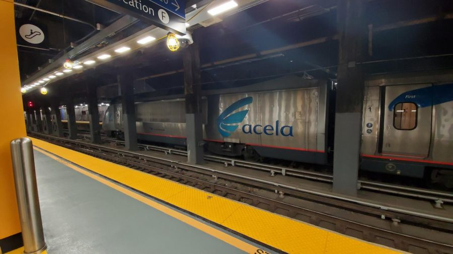 Amtraks+Acela+Express+has+a+top+speed+of+150+miles+per+hour+which+will+hopefully+be+reached+with+improved+safety+and+signals+under+Amtrak%E2%80%99s+new+plan.