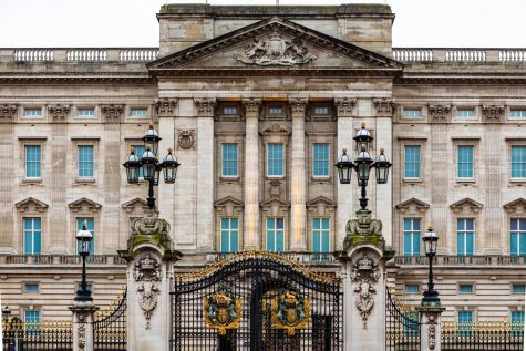 Here is Buckingham Palace in London, England, the site of the palace intrigue as revealed by Prince Harry and Megan Markle during their recent interview with Oprah Winfrey.