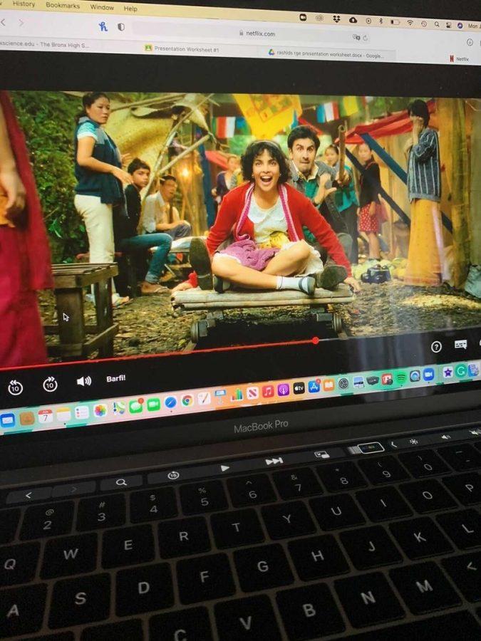 Ranbir Kapoor stars as Barfi and Priyanka Chopra stars as Jhilmil in the film 'Barfi!'