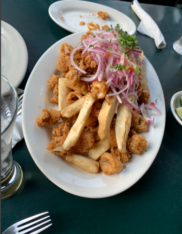 Urubamba is a restaurant in Jackson Heights that serves traditional Peruvian food and has become popular among the residents, noticed most by their ceviche and Jalea (pictured above).