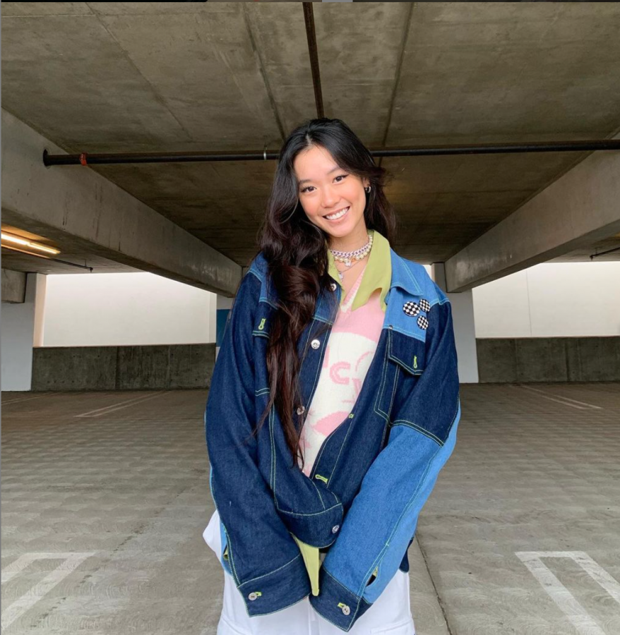 During the Coronavirus pandemic, one of influencer Sarah Roh's favorite places to take pictures was in parking lots, as they are often empty and allow for easy social distancing.
