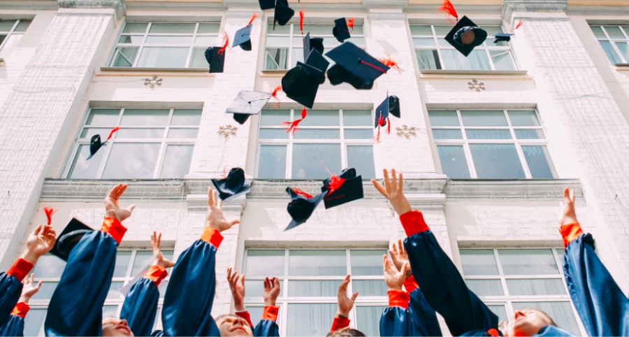 Graduation is cause for celebration, although for many, a college diploma comes at a hefty price.