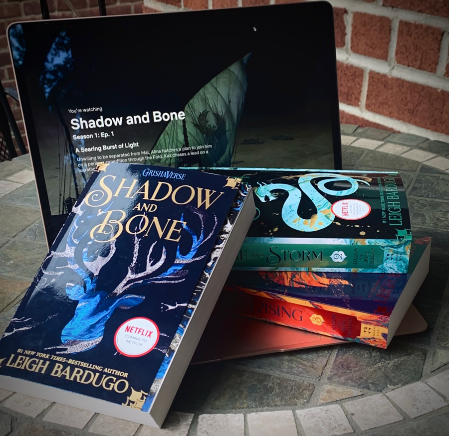 """Sarah Chen '24 read 'Shadow and Bone' before seeing the Netflix adaptation. """"I think that being familiar with the characters made it easier to follow the story and made me look forward to seeing certain parts adapted,"""" Chen said."""