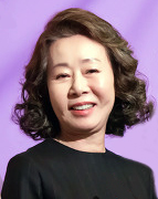 Here is a photograph of Youn Yuh-Jung, taken at the 2016 Women In Film Korea Festival.
