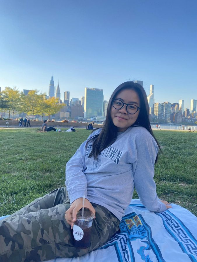 """""""When I visited Dartmouth's campus, it felt right, and I kind of just knew that that was the school that I would be able to explore what I wanted to learn, because of its liberal arts courses,"""" said Emma Nguyen '21. Especially since Nguyen plans on returning to New York City after college for a job, she wanted to have a different experience in a college with a suburban campus."""